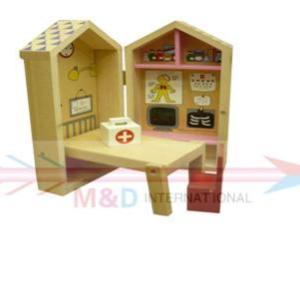 wooden little clinic