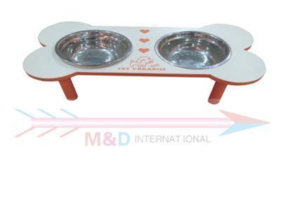 dog's feeding basin