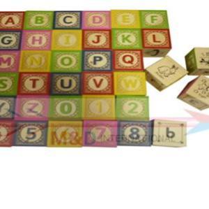 36 pcs classical alphabet