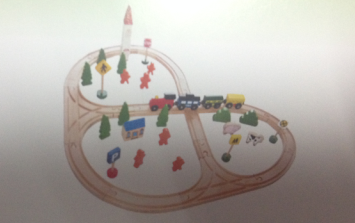 45PCS TRAIN SET