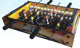 FOOSBALL WITH LED LIGHT