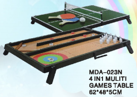 4 IN 1 MULITI TABLE GAME