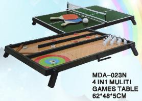 4 IN 1 MULITI TABLE GAME