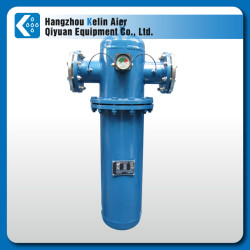 Flange Precise Air Filter with Differential Pressure Gauge