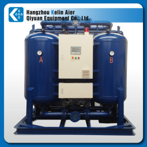 Non Purge Heated Regenerative Compressed Air Dryer for oil-free air comprssor