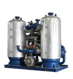 Zero Loss Blower Heater Adsorption Compressed Air Dryer