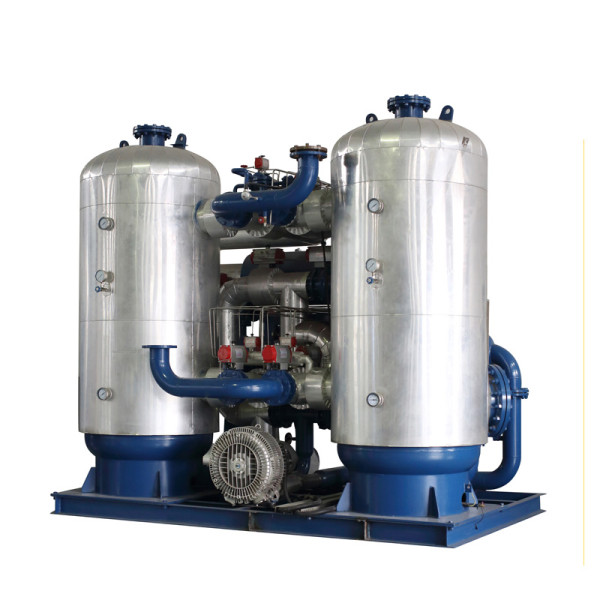 Zero Loss Blower Heater Adsorption Compressed Air Dryer