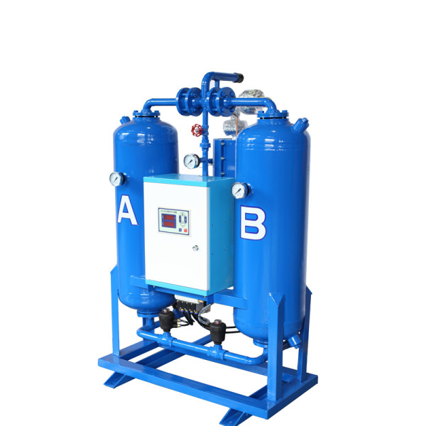6%  air loss Heated Desiccant Dryer with heater