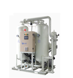 2% air loss Energy Saving Blower Purge Desiccant Compressed Air Dryer with heater