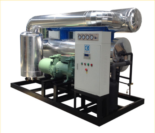 water cooling high inlet temperature refrigerated air dryer with PLC controller
