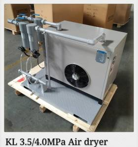 3MPa PET high pressure refrigerated air dryer for bottle blowing line