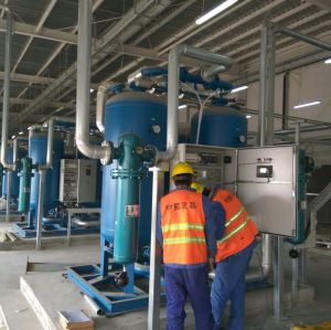 2% Heated Regenerative Compressed Air Dryer for oil-free air comprssor