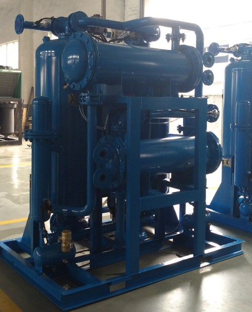Large Capacity heat of compression dryer for centrifugal compressor