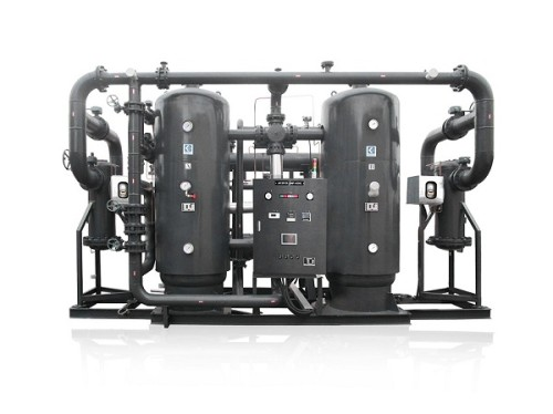 No air loss heat of compression dryer