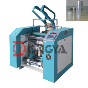 Stretch Film and Cling Film Rewind Slitter Machine