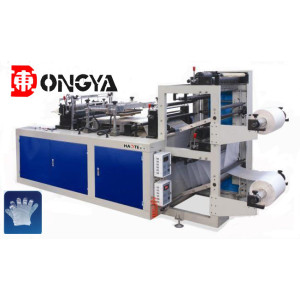 Microcomputer Control High Speed Plastic Glove Making Machine