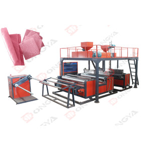 DYF-Series PE Air Bubble Film Co-extrusion Machine