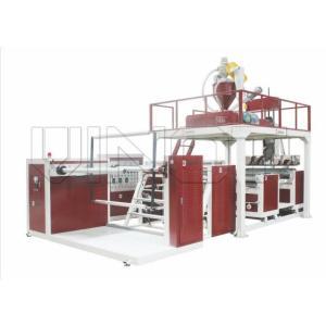 80-130kg/h High Speed Air Bubble Film Machine HDPE / LDPE Material