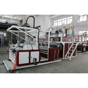 SLW Series Double Layer PE Co-extrusion Stretch Film Making Machine Production Line