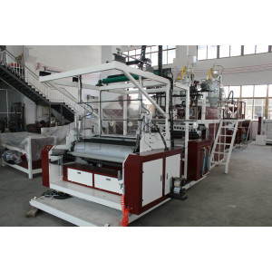 1-3 Layers Energy Saving Stretch Film Machine SLW1000