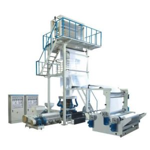 High Precision Pp Film Blowing Machine Max. Extrusion 30 - 110 Kg / H
