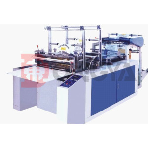 Automatic T-shirt Plastic Carry Bag Making Machine Plastic Bag Making Machine