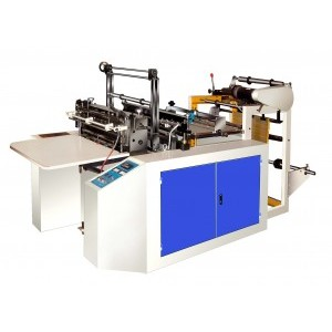 4 - 6.5kw Bag Making Equipment , Biodegradable Plastic Pouch Making Machine