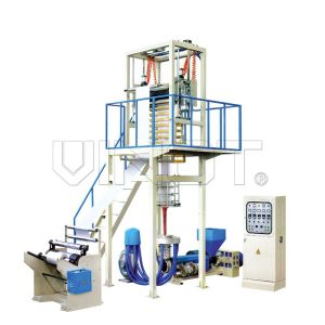 High Output PP Film Extrusion Machine Low / High Density Polyethylene SJ-60 Vinot bowing film machine