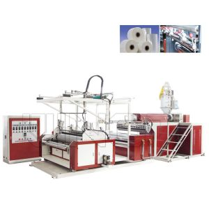 Three Layers Automatic Stretch Film Machine With ISO9001 Certificate