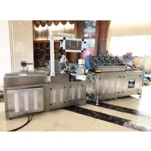 High Speed Machine To Make 35-40m / Min 3 Layer Colourful Paper Straw