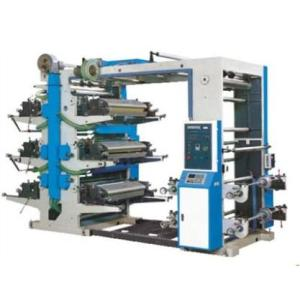 six colors flexo printing machine