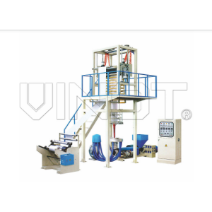 Automatic Multilayer Blown Film Machine HDPE / LDPE / LLDPE Material
