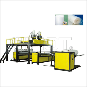 High Speed Air Bubble Film Machine Stainless Steel Material 2000 - 3000 mm width