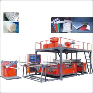 DYF-2000 5 layers PE Compound Air Bubble film Machine