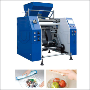 DY-500 Automatic Cling Film Rewinder Slitter