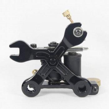 Cast Iron Tattoo Machine Tattoo Gun 8 Wraps Coils JL-1207