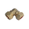 Brass compression fitting(elbow )