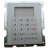 metal keyboard for fuel dispenser