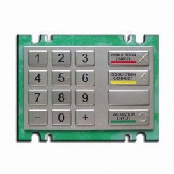 PCI V3.0 Encryted pin pad for Wincor V5