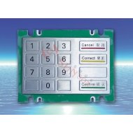 High quality Metal Keypad for Self-service terminal,internet kiosk,industrial control,medical device (S-6160A)
