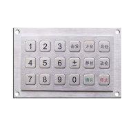 metal numeric keyboard,metal keypad,metal pinpad,