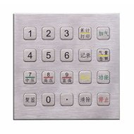 metal numeric keyboard,metal keypad,metal pinpad,