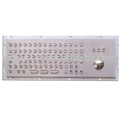 Metal Keyboard with Trackball,Metal keyboard,industrial keyboard,kiosk keyboard,kiosk keypad(SPC-6-G)