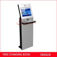 free standing information kiosk