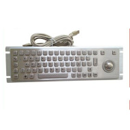 braille metal keyboard for kiosk