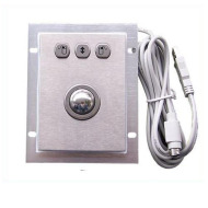 panel mount optical trackball