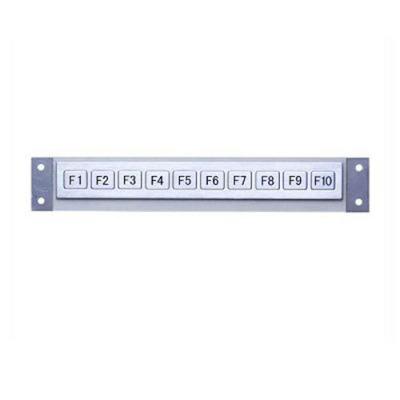 10 key functional metal keyboard