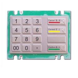 kiosk metal keypad