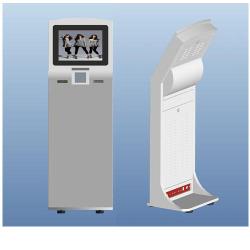 free standing  kiosk