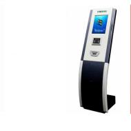 free standing kiosk-queue kiosk